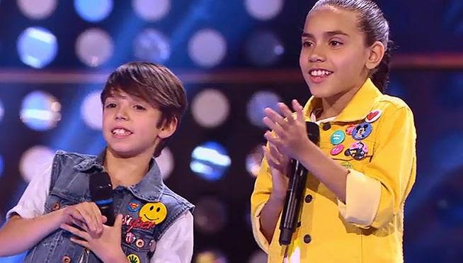 Ariadna y Felipe: Pequeños Gigantes Gala 5
