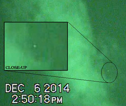 UFO Caught Hiding In Clouds Seen With Infrared, UFO Sightings
