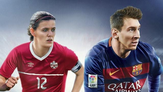 FIFA 16 Portada Canadá Sinclair Messi