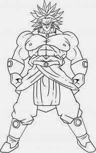 como desenhar o broly dragon ball z como desenhar 10