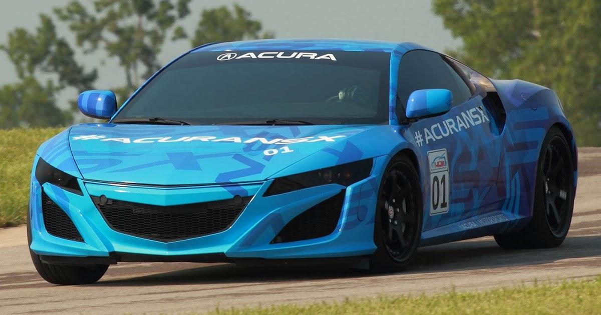 Novo Acura NSX vai para pista no dia 4 de agosto