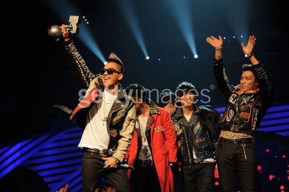 Big Bang MTV Worldwide Act Winner