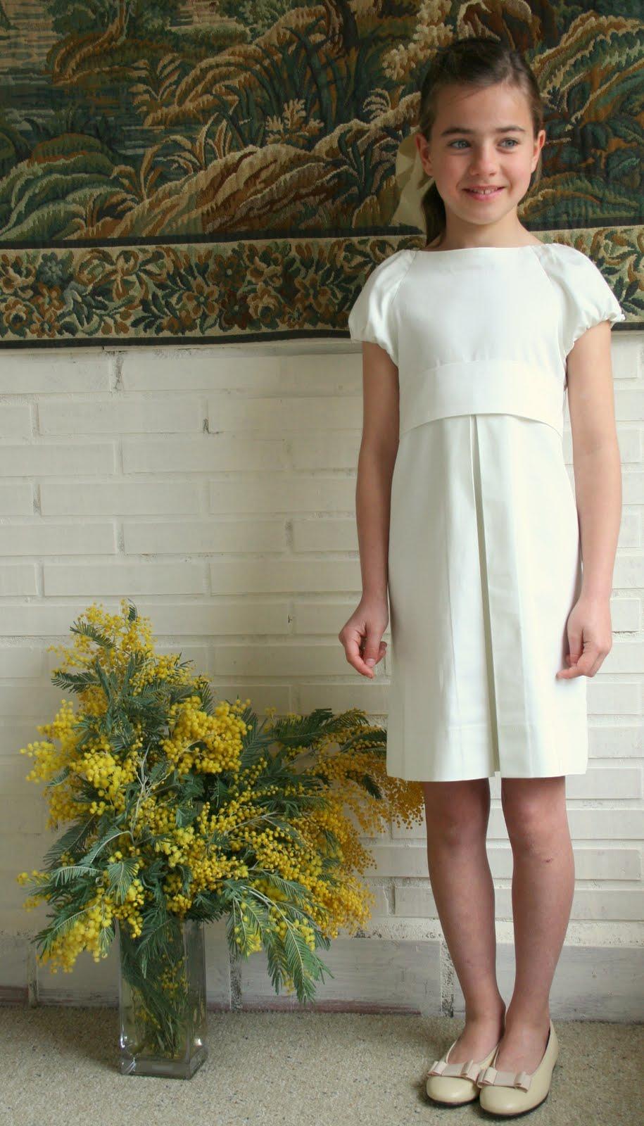 Vestidos sencillos para la primera comunion