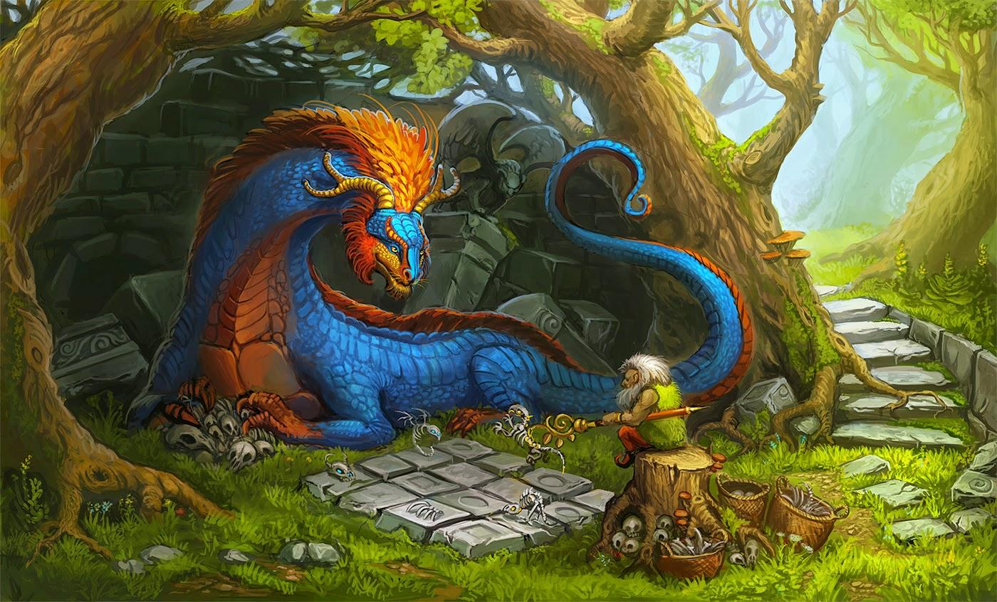 immagini di draghi bellissimi
