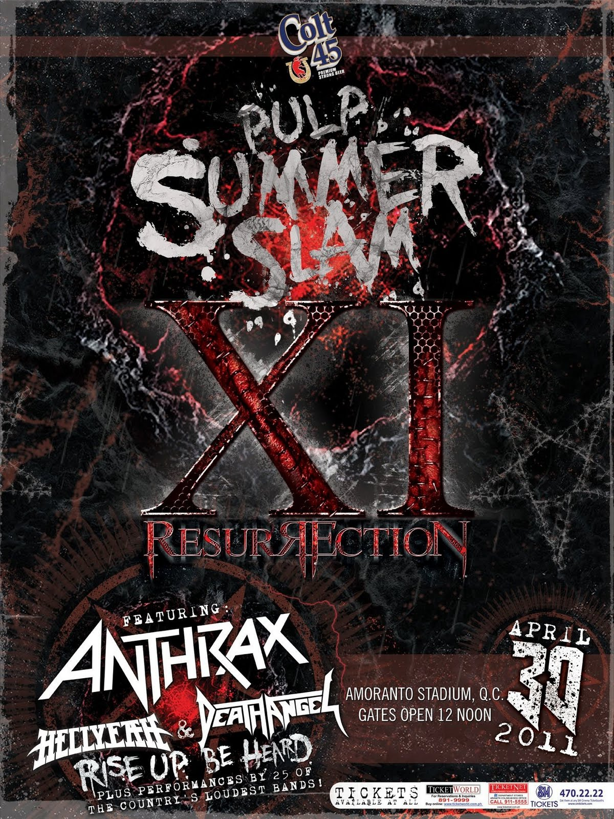 Pulp Summer Slam XI Feat. Anthrax and Death Angel | Leaky Faucets