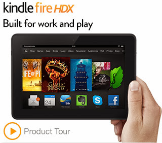 Verizon Kindle Fire HDX 7 Tablet Prepaid Cell Phones