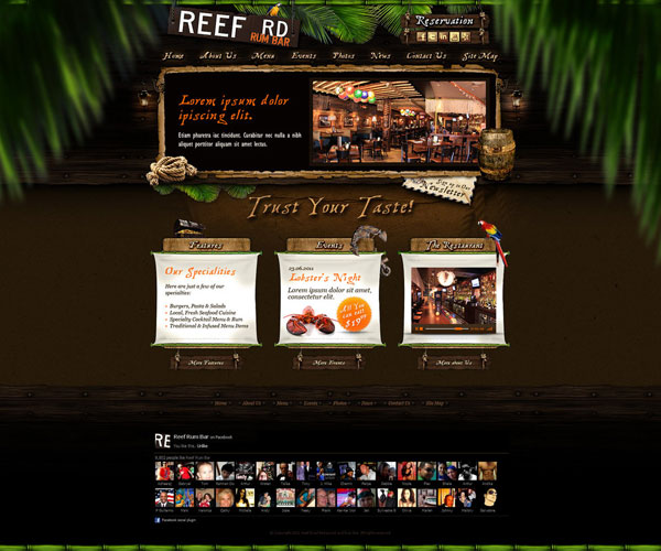 Web-Design-Reef-Road-Restaurant