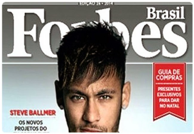 Neymar become the most powerful man in Brazil according to Forbes