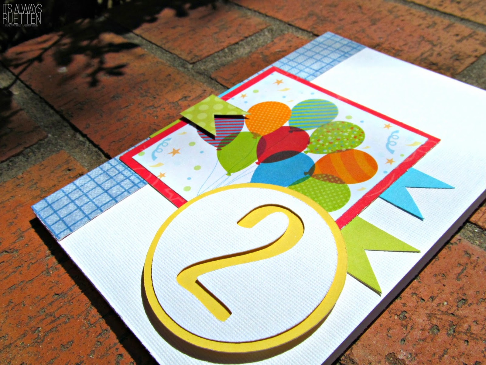 Bright and Sunny Birthday Card with FREE Silhouette Studio CUT FILE! #MOJO341