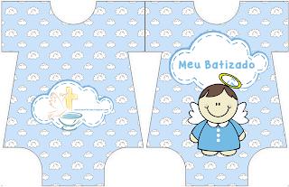 convite batizado menino imprimir grátis