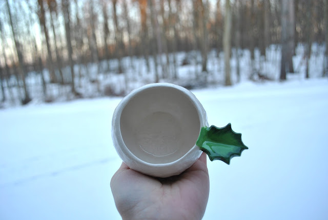 Flashback Summer:  Winter Snowball Cups!