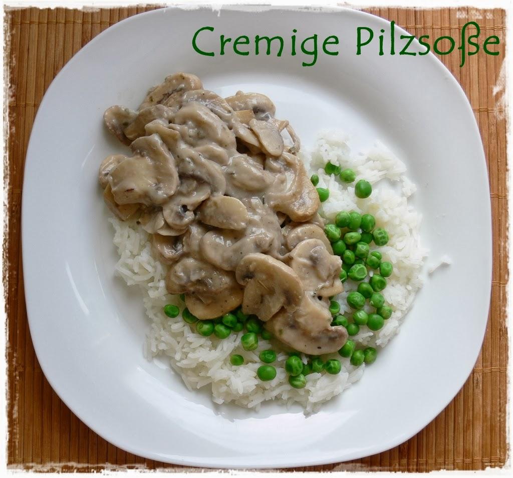 Veganes Rezept: Cremige Champignonsauce