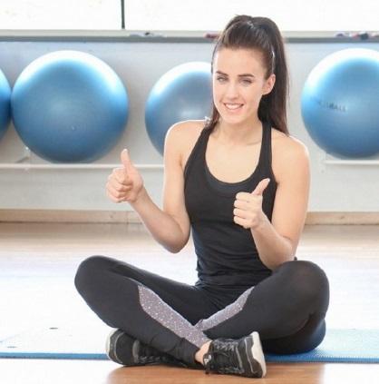 Realiza rutinas de ejercicios