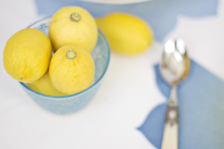 pastel de limón y merengue