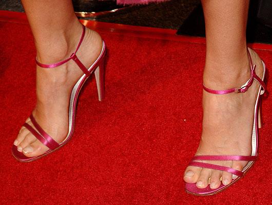 Jessica Alba's foot