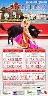 Antequera - Real Feria de Agosto 2014 - Cartel Taurino