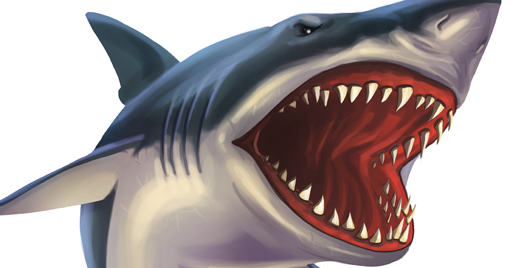 Coloring Pages Sharks : Coloring pages: shark coloring pages free and printable