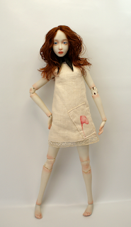 Porcelain BJD Art Doll