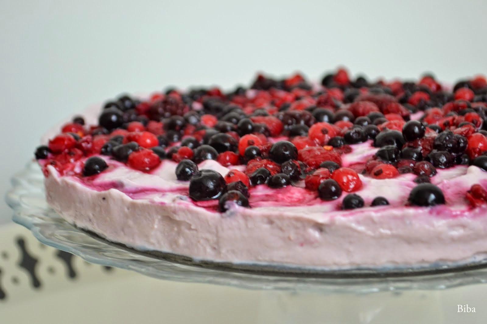 baby torta smotanovo-ovocná