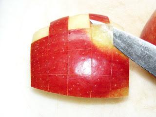 checkerboard apple