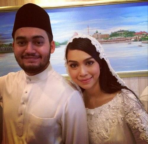 21 Gambar Sharifah Sakinah Aliff Kini Sah Bergelar Suami Isteri