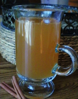 Hot Cider with Ginger Lemonade