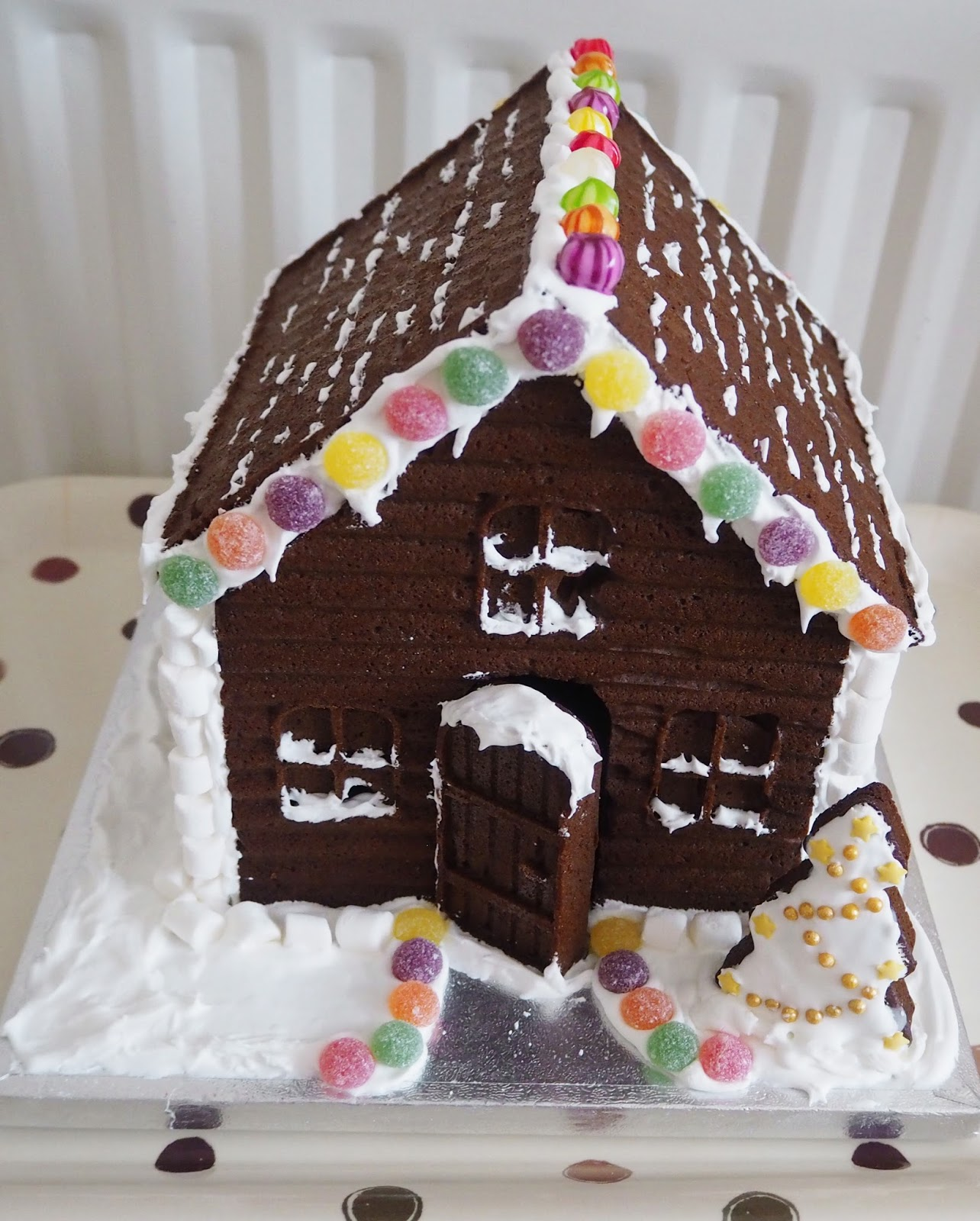 Homemade Gingerbread House | Katie Kirk Loves
