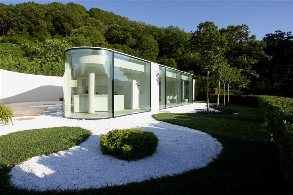 Real life is elsewhere lake lugano house for Architecture suisse