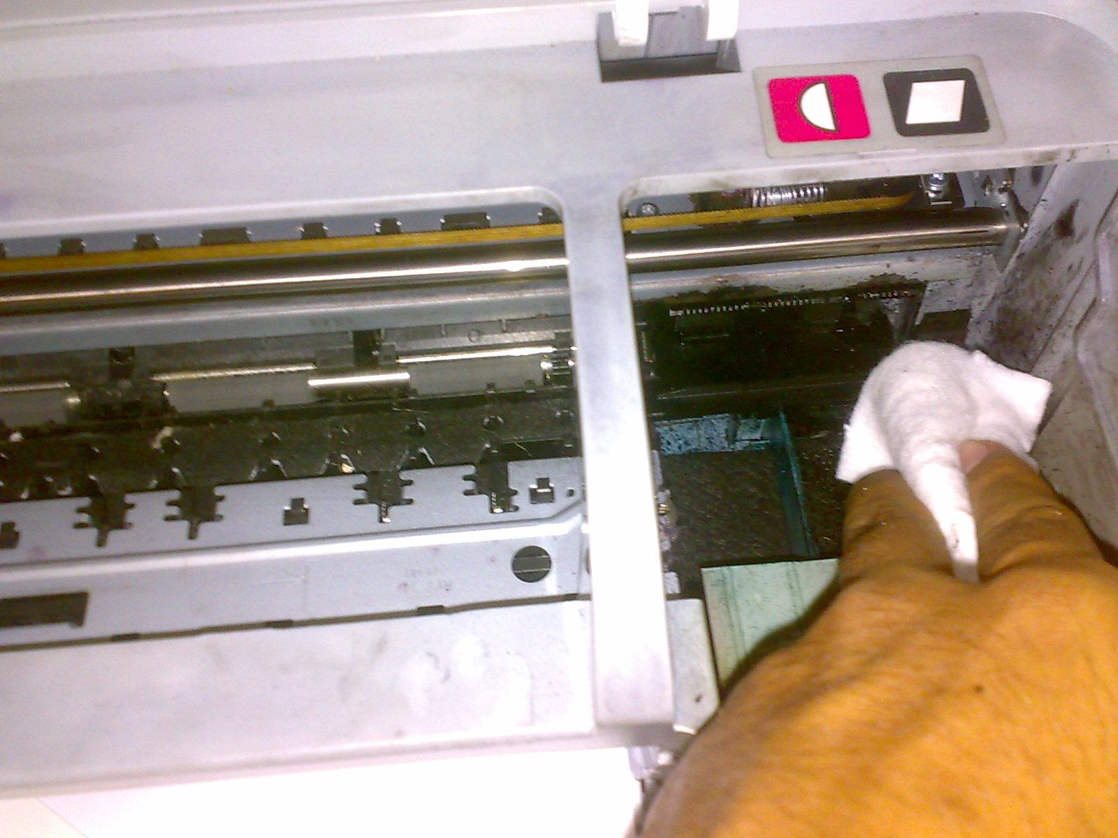 memperbaiki Printer tinta yang macet