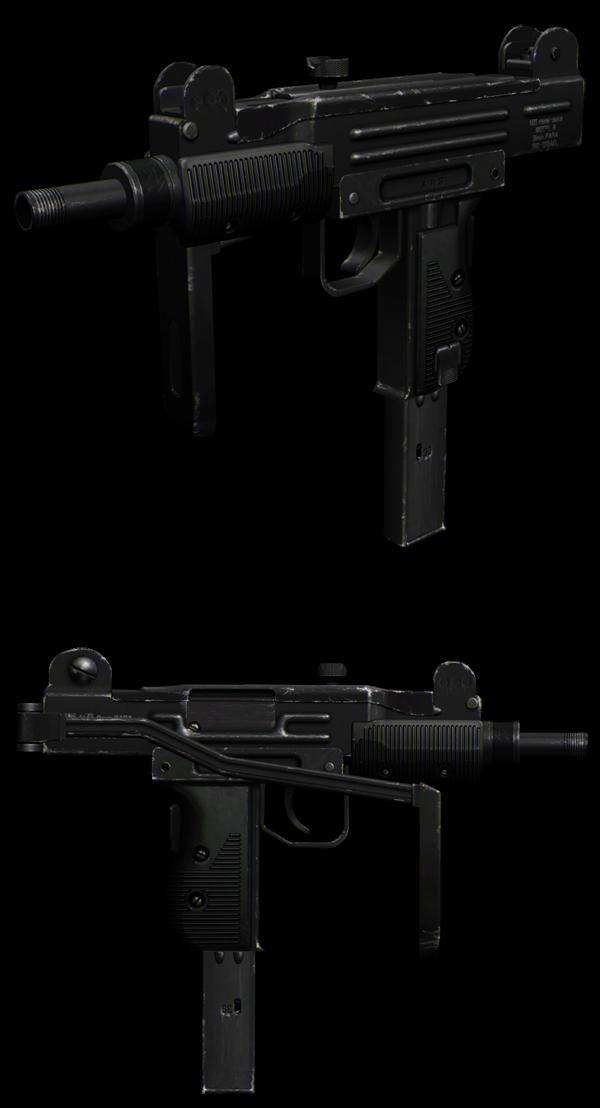 Micro Uzi GTA San Andreas Micro-uzi
