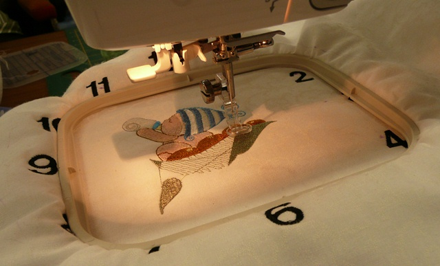 Punch with judy s machine embroidery retreat day