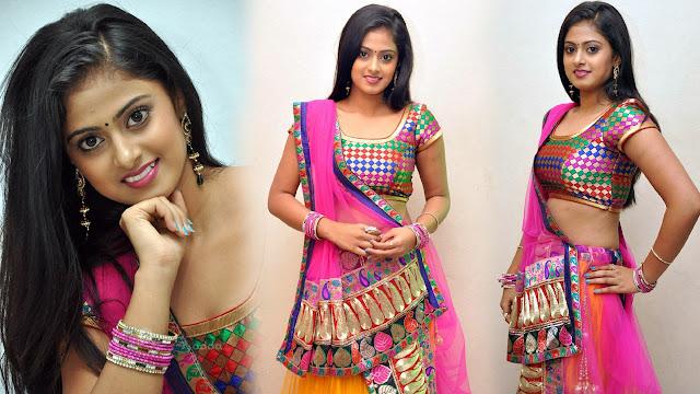 Actress Megha Sri Latest Stills At Oh My God Audio Launch