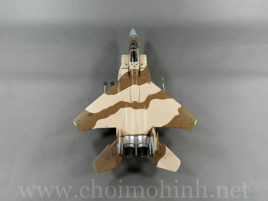 F-15C Eagle Aggressor USAF 1:72 Witty Wings up