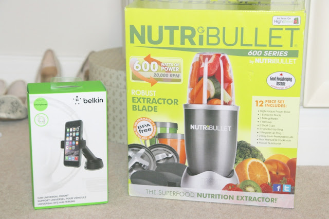 Katherine Penney Chic Blogger What I got for my birthday Present Summer Favourites Lucky Girlie Beauty Makeup Cool 19th  nutribullet