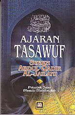 toko buku rahma: buku AJARAN TASAWUF, pengarang syekh abdul qadir, penerbit pustaka setia