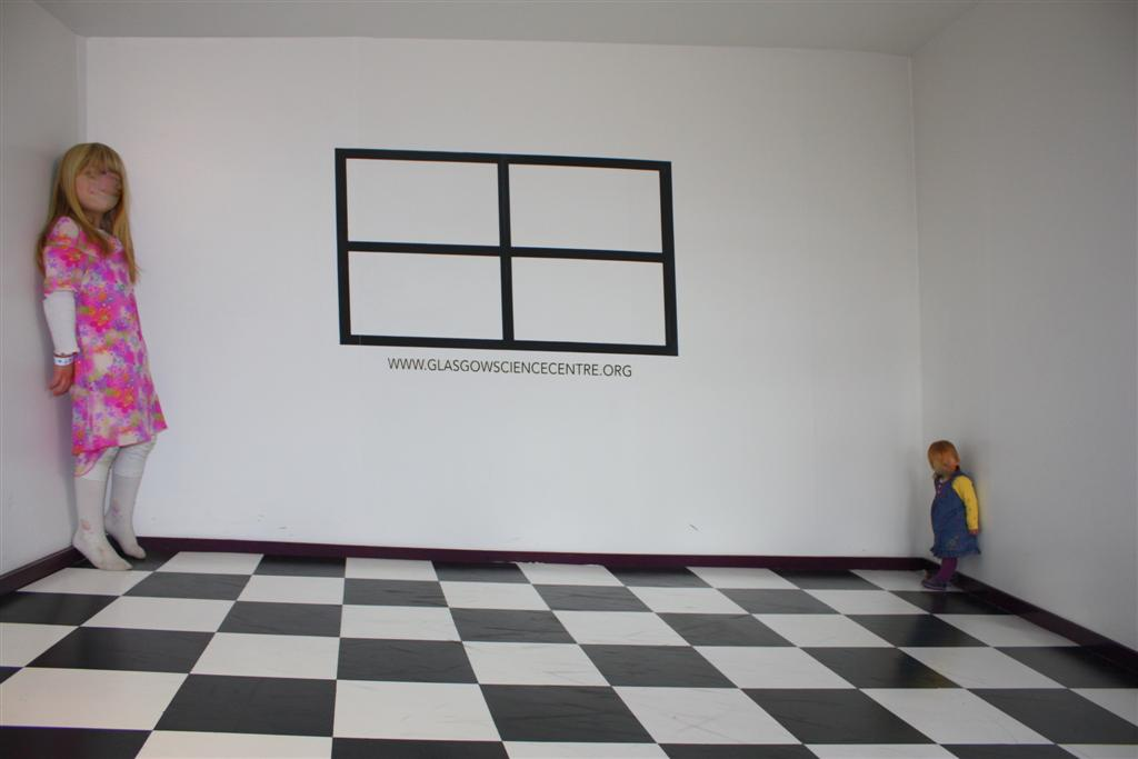 can't quite get the Ames room. I guess there's no shame in wonder