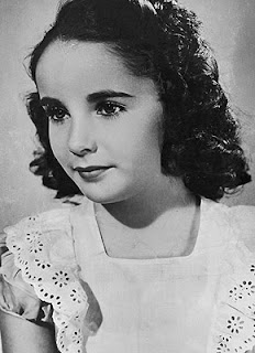 Elizabeth Taylor in her debut role