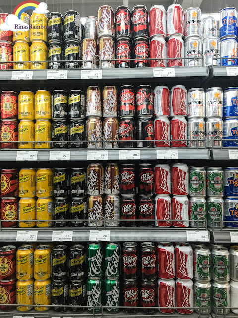 beverage section Merkado Supermarket