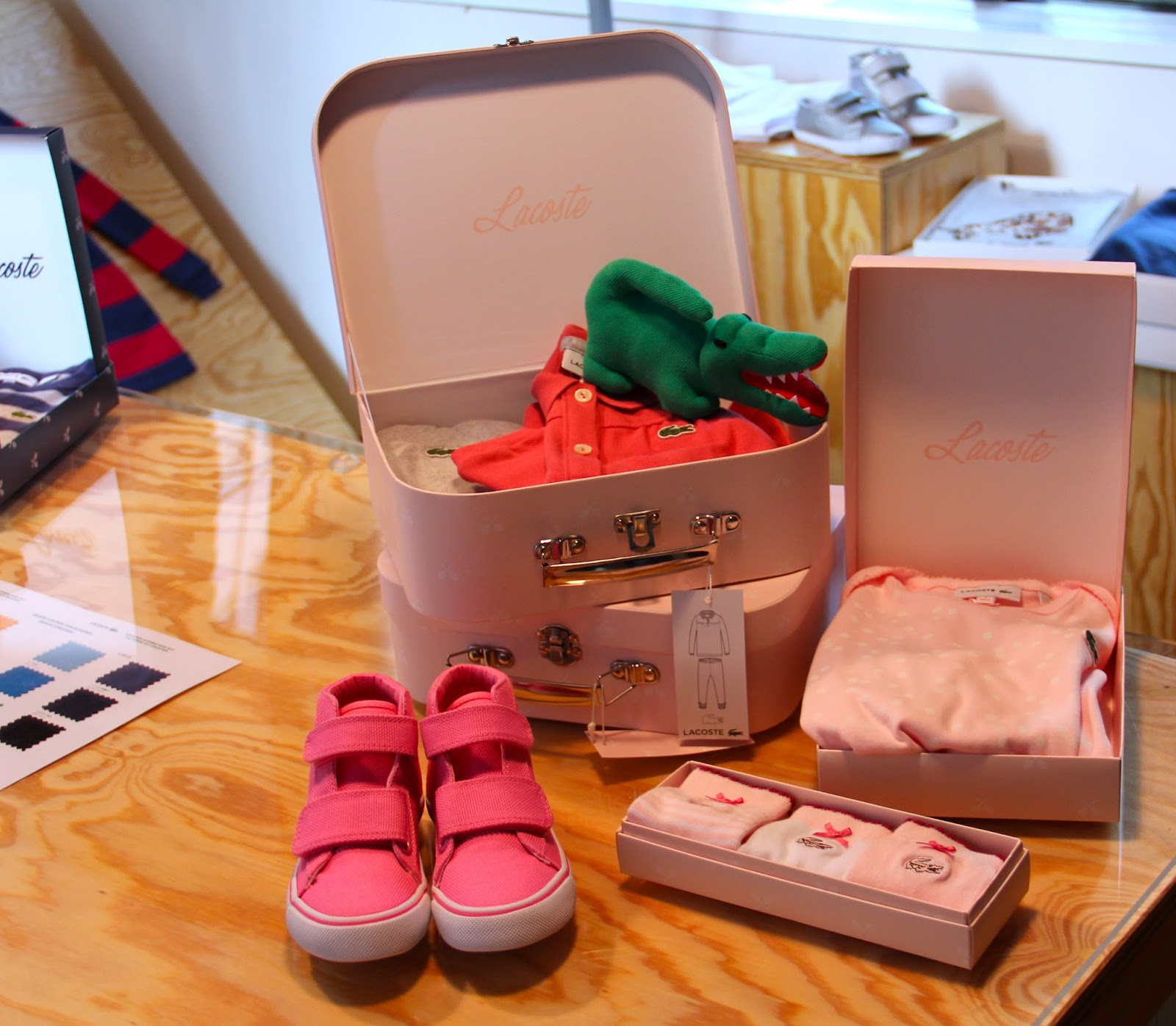 Polo Baby Gift Sets : Lyra mag lacoste l ve kids f w