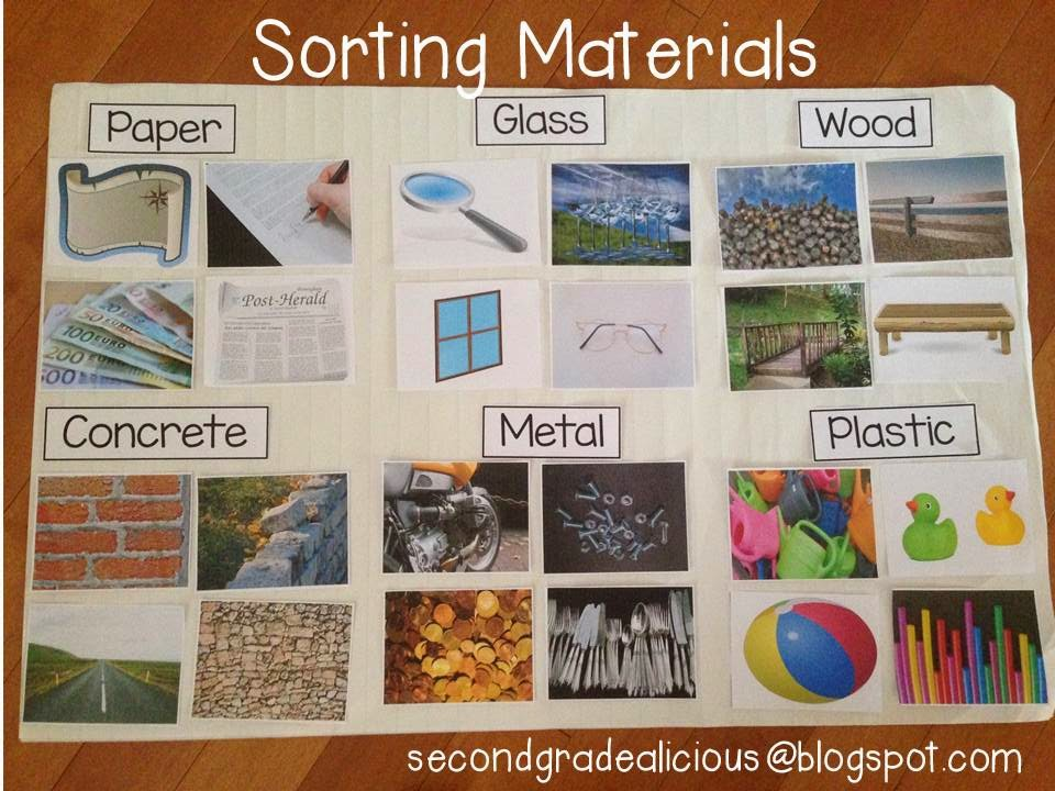 Secondgradealicious materials objects and everyday for List of materials used to build a house