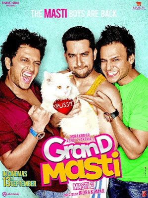 Grand Masti (2013) Hindi Movie Release Date, Star, Cast and Crew, Trailer
