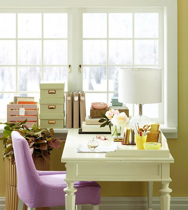 Design Ideas  Home Office on Styling A Home Office Home Office Decor Interior Design Ideas Belle