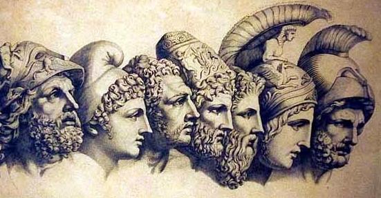 Tiranos de la la Antigua Grecia