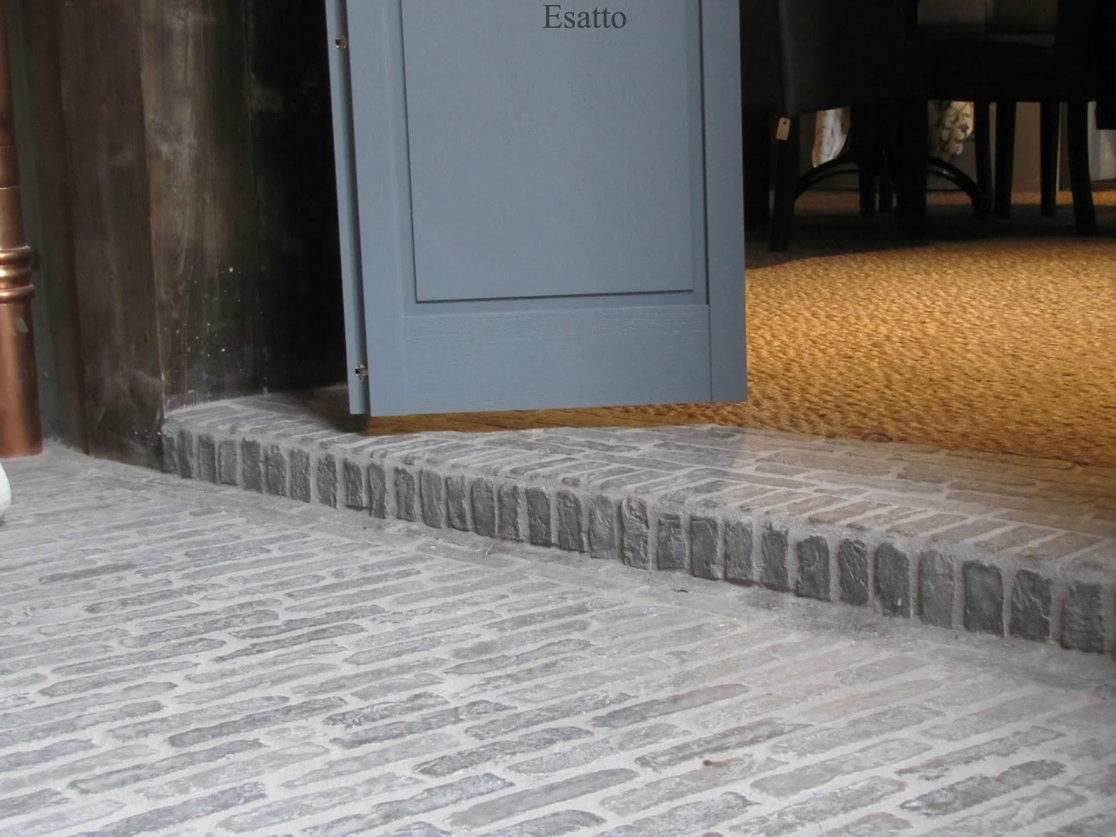 Eetkamer Stone : Deze vloer geeft een ruimte direct een andere ...