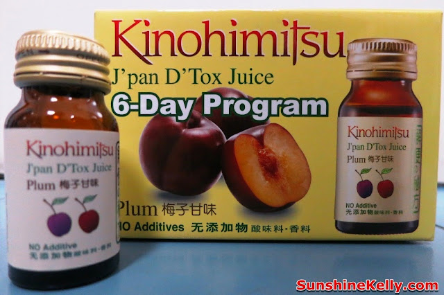 Kinohimitsu J'pan D'Tox Juice 6 Day Program