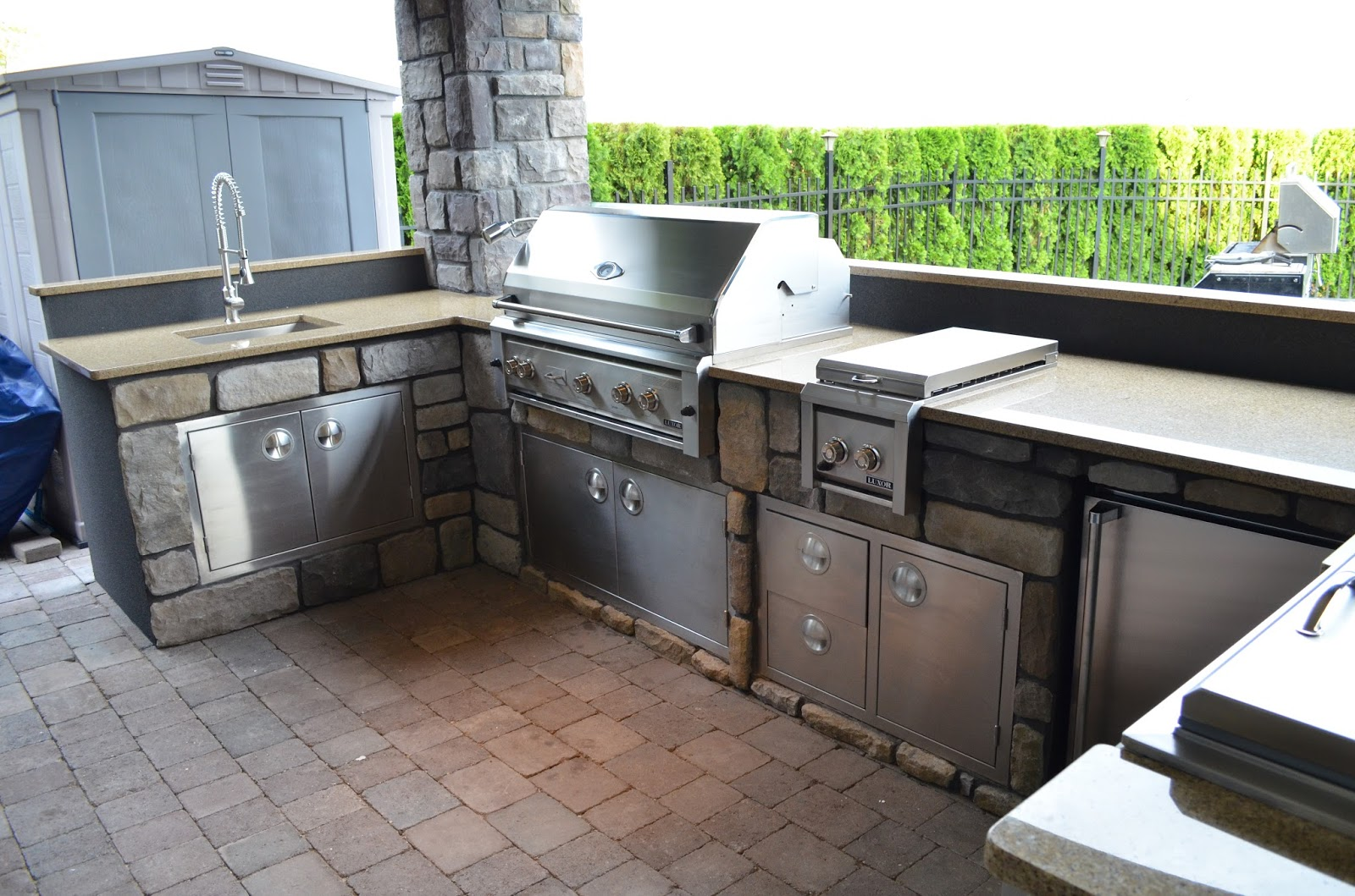 mode concrete outdoor kitchen specialists here is