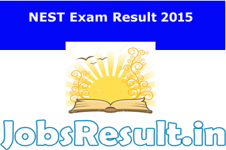 NEST Exam Result 2015
