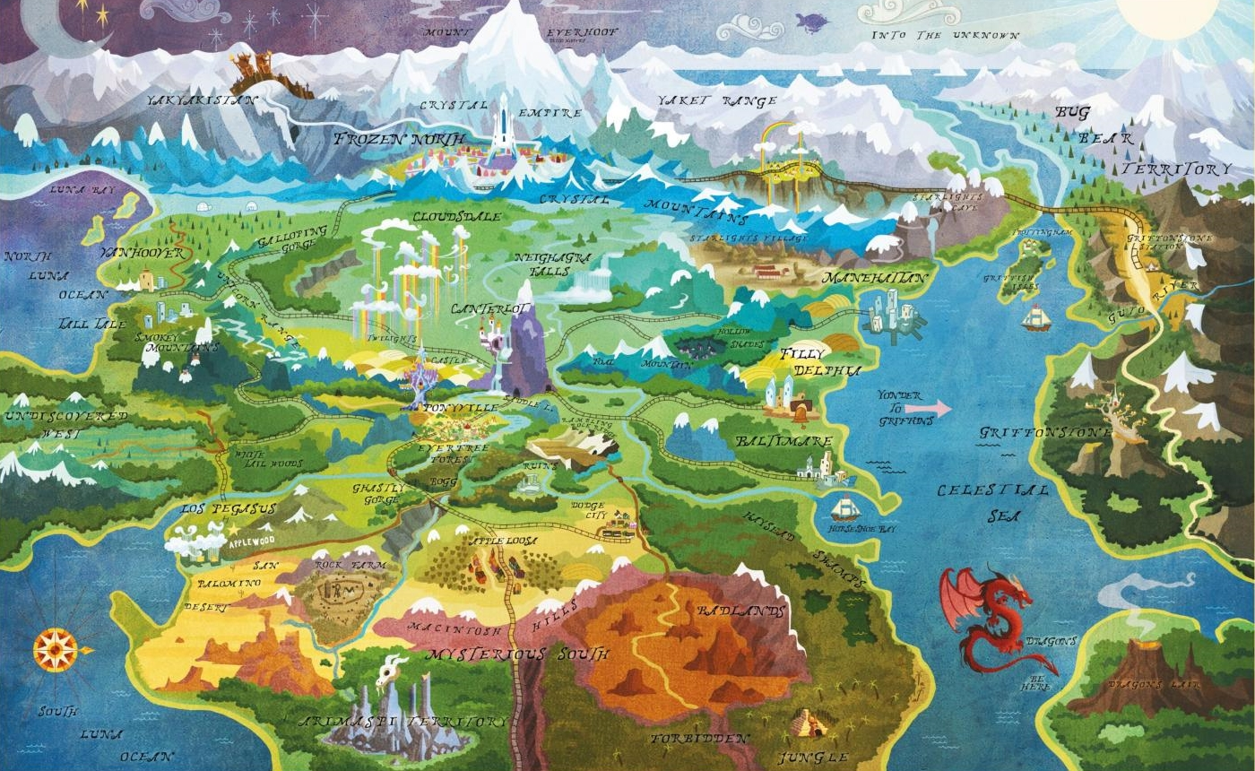 Fantasy World Map TV Tropes
