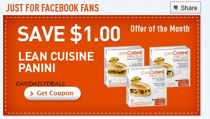 Canadian daily deals canada coupons lean cuisine 1 off for Average price of lean cuisine