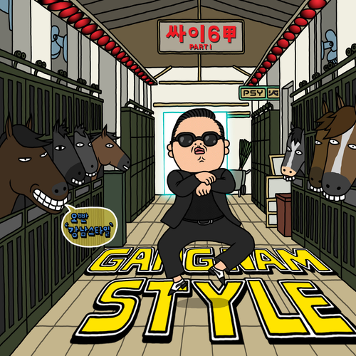 Transicion Letra Fonetica De Gangnam Style